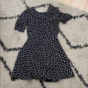 Reformation Short Floral Dress